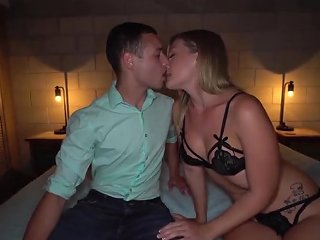 Cuck Older Husband Shares Hot Wife Addison With Young S