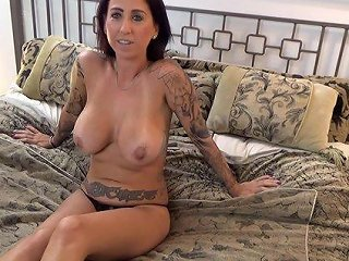 Amateur Wife With Nice Big Tits Rides Her Lover's Large Dick