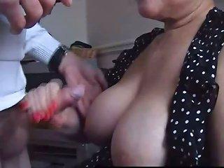 Mature British Upskirt Amateur Housewife Shows Her Panties